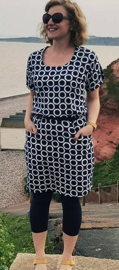 El's Bettine dress - sewing pattern by Tilly and the Buttons