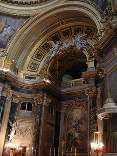 Palacio Real de Madrid, Spain   capilla, de mis lugares favoritos ♥