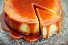 Moja kuchyňa: Dokonalý cheesecake so slaným karamelom