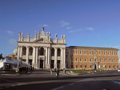 St. John Lateran square in Rome