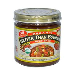 Better Than Bouillon Organic Beef Soup Base 8 Ounce  6 per case >>> You can get additional details at the image link.