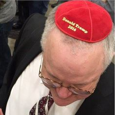 "At the American Israel Public Affairs Committee conference in Washington, D.C., Republican presidential candidate Donald Trump was a clear favorite. That is if sales of yarmulkes are any indication of the GOP front-runner's popularity. One vendor selling kippas with Trump's campaign logo at the conference on Monday said he was ""inundated"" with requests for the ""Donald Trump 2016"" …"