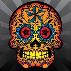 Graphic Mexican Skull | ... /TiCLys5ql7I/AAAAAAAAIQk/JSk7f22JvB8/s320/Mexican+Sugar+Skull9.jpg