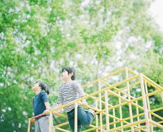 park life #9   hideaki hamada photography vibrant colors, fantastic composition and interesting perspective.