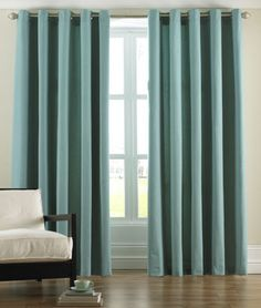 Paoletti Panama Ring Top Curtains In Aqua U2013 Next Day Delivery Paoletti  Panama Ring Top Curtains In Aqua From WorldStores: Everything For The Home