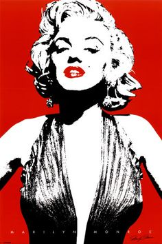This Marilyn Monroe Poster would be perfect for a Marilyn Monroe inspired dressing room