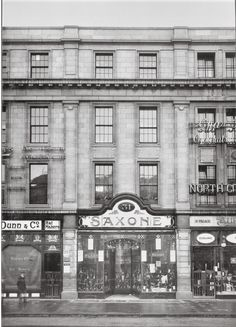 Saxone Shoe Company, 31 O'Connell Street Lower, constructed in shop is now occupied by a branch of Ann Summers Dublin Street, Dublin City, Old Pictures, Old Photos, Irish People, Photo Engraving, Ireland Homes, Free State, Vintage London