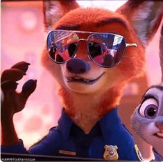 Do you know what the difference between nick and Judy is? Arte Disney, Disney Magic, Disney Movies, Disney Pixar, Nick Wilde, Zootopia Fanart, Zootopia Comic, Zootopia Nick And Judy, Judy Hopps
