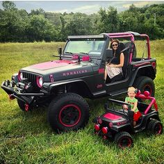 Passing down the passion known as #jeep @liljeepfamily #jeepher #Padgram