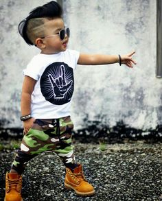 The High and Tight: A Classic Military Cut for Little Boys #Fade #Toddlers #Long #Undercut #Black #Hairstyles #Ideas #Line #2018 #Mixed #Buzz #Inspiration #Sons