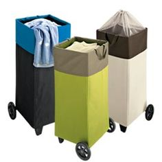 Laundry Basket with Wheels,  | Solutions