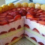 Une bonne charlotte aux fraises au mascarpone ?