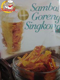 Resep Makanan Sambal Goreng Singkong, Menu Makanan Sehat, Club Masak