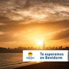#playaPoniente #Benidorm #puestadesol #sunset