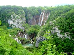 Plitvice Lakes-Croatia  Λίμνες Πλίβιτσε - Κροατία