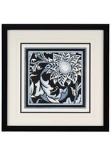 Blue & White Floral Motif II Picture