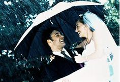 Rain on your wedding day is actually considered good luck, according to Hindu tradition.