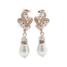 Online For Bridal Wedding Jewellery At Poetry Designs In Australia Earrings Pearl Drop