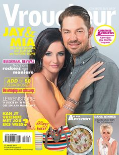 27 March 2015 | 27 Maart 2015 Jay du Plessis en Mia Jay, Magazines, March, Windows 8, Magazine Covers, Android, Iphone, Digital, Journals