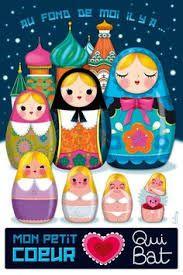 """Résultat de recherche d'images pour """"poupées russes pois illustration"""""""