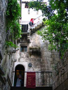Marco Polo's birthplace, Korčula, Croatia