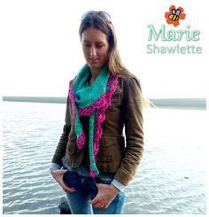 This listing is for a PATTERN ONLY for the Marie Shawlette from The Little Bee. The following discounts are available if you would like to purchase more than one pattern from The little bee: Buy 2 Patterns = $2 off: use the coupon code BUNDLE2 Buy 3 Patterns = $3.50 off: use the