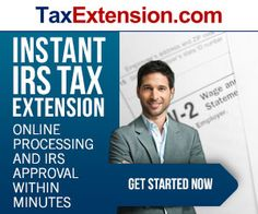 TaxExtension.com offers quick and easy IRS income tax extensions for those who need more time to finish their income taxes. In about 5 minutes, users can get up to 6 more months to finish their taxes and the IRS doesn't even ask why – it's automatic! TaxExtension