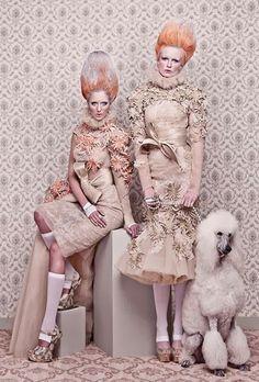 mikapoka: Marie Antoinette like a geisha