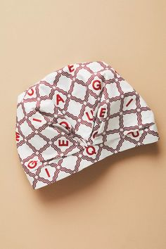 Hotel Magique for Anthropologie Carreaux Shower Cap | Anthropologie Shower Cap, Best Brand, Paper Goods, Whimsical, Anthropologie, Product Launch, Graphic Design, Art Prints, Collaboration