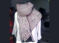 Support KnitYak and Get a Unique Mathematically Knit Scarf! Details via Kickstarter #knit #knitting #kickstarter #math