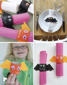 Halloween napkin rings by Pysselbolaget