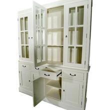 Louisiana White Glazed Display Cabinet with 4 Doors Tree Furniture, White Furniture, Cool Furniture, Cupboard Storage, Storage Cabinets, Display Cabinet Lighting, Dining Cabinet, Minimalist Closet, Kitchen Dresser