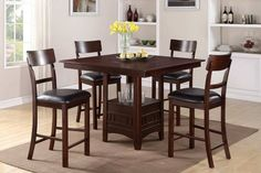 Dining Room Furniture Bar Height - A lot of people bump bistro and pub tables under the heading of pub table to a single gr Tall Dining Room Table, Bar Height Dining Table, Bar Table Sets, Dining Room Furniture, Modern Furniture, Bar Tables, Dining Chairs, Wood Furniture, Furniture Design