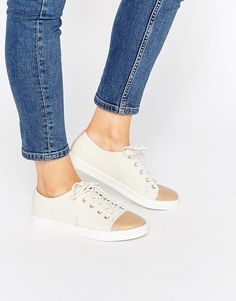 Image 1 of Monki Minni Canvas Shoe
