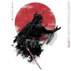 Darth Samurai T-Shirt   Darth Vader Shirt & Hoodie   ShirtPunch!   The World's Favorite Shirt Shop   ShirtPunch
