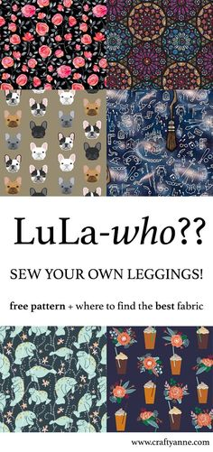 Do you want a drawer filled with leggings that fit you perfectly? Learn how to sew leggings and save a little money while enjoying your higher-quality leggings.