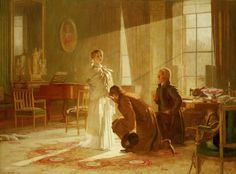 The Royal Collection: Victoria Regina: Queen Victoria receiving the news of her Accession
