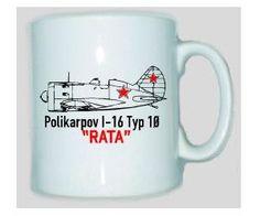 Tasse Polikarpov I-16 Rata / mehr Infos auf: www.Guntia-Militaria-Shop.de