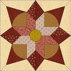Country Rose Quilts - Block 20 Wo die Liebe hinfaellt