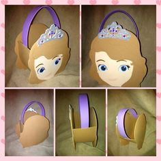 Disney Sofia the first Princess inspired party by funpartycrafts, $3.00