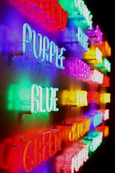 Neon, all the colours in a rainbow. Neon Colors, Rainbow Colors, Colours, Neon Rainbow, Light Colors, Vibrant Colors, Taste The Rainbow, Over The Rainbow, World Of Color