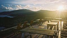 Restaurante Cap de Creus, Cadaques. Mejillones de roca y magret de pato. muy romantico