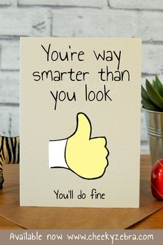 Funny good luck cards, good look gifts, exam card, handmade good luck card, n. Exam Wishes Good Luck, New Job Wishes, Good Luck New Job, Good Luck For Exams, Good Luck Cards, Good Luck Gifts, Job Quotes Funny, New Job Quotes, Hope Quotes