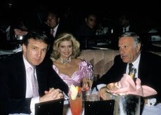Donald Trump Ivana Trump and Preston R Tisch