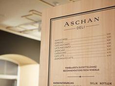 Aschan Deli interior design and branding by BOND, Helsinki store design hotels and restaurants branding