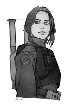 charlestan: Very excited for Rogue One!! #JynErso