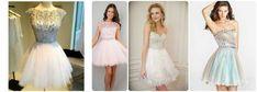 Fotos de vestidos curtos com bordado