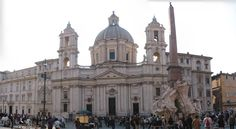 Sant´Angnese, Piazza Navona - Buscar con Google