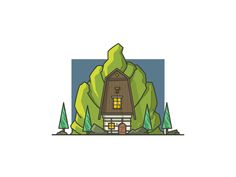 Vilage House by Igor Varёnov #Design Popular #Dribbble #shots