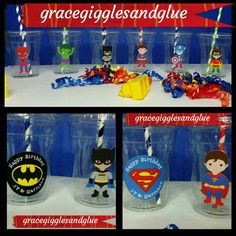 This listing is for one superhero themed garland/ banner. Banner is approximately 6.5 feet long and characters are 8.5 inches tall. This banner is perfect for superhero parties or to decorate a little boys room! Other characters available as well so feel free to inquire. Also if